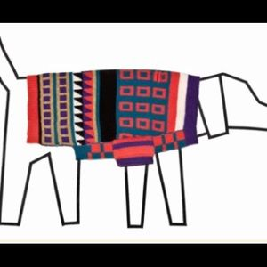 100% Merino Jacquard Sweater - Size 4